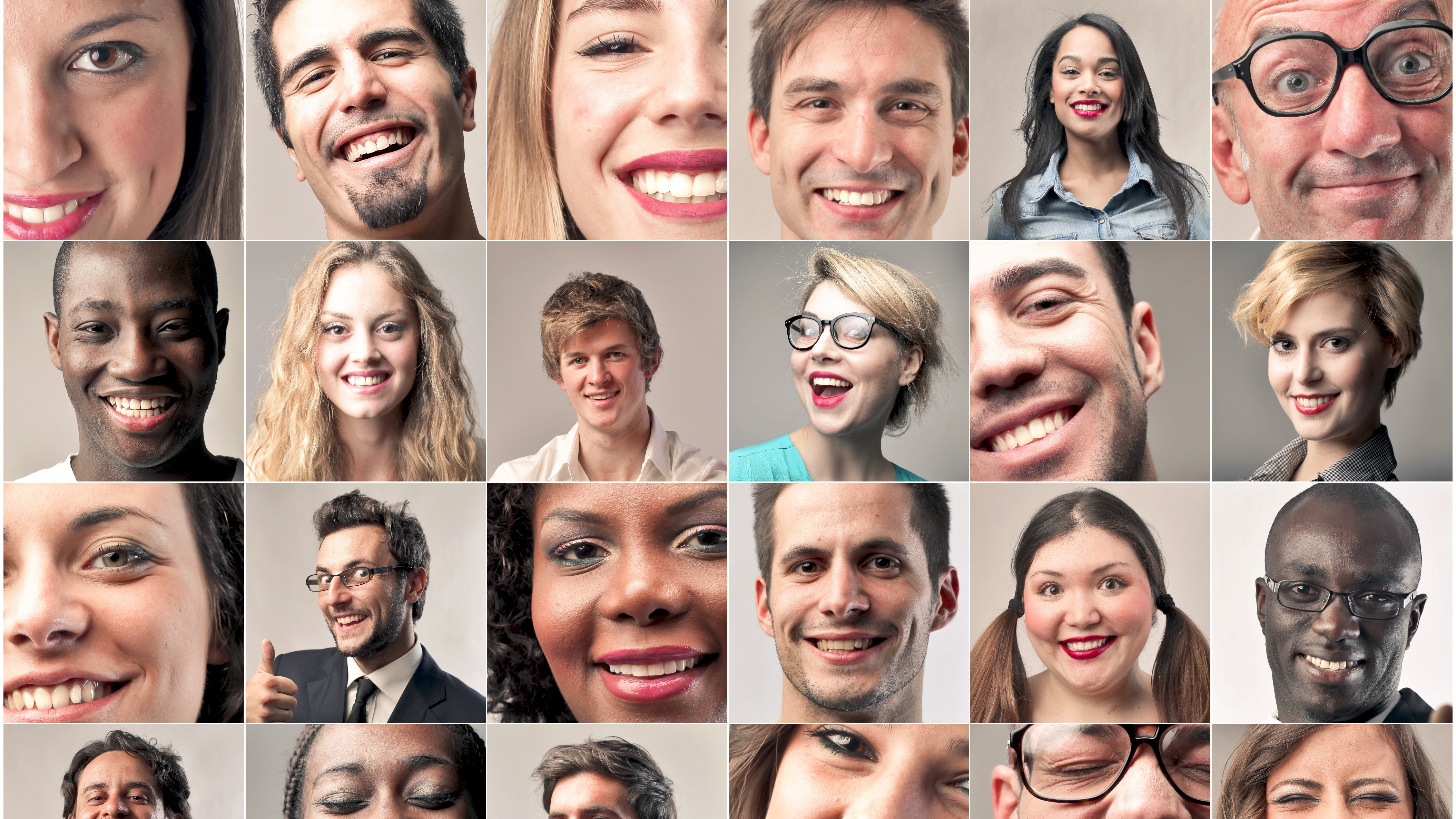 Facial expressiveness in cultures have thought