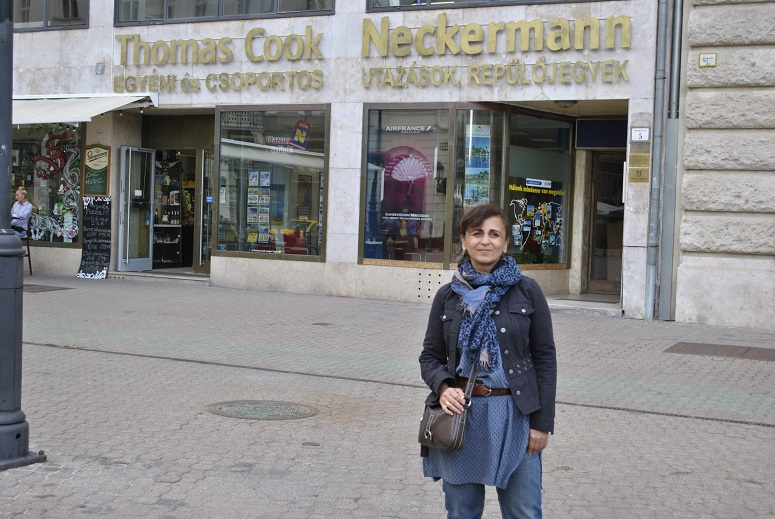 Albena Gadjanova à Budapest