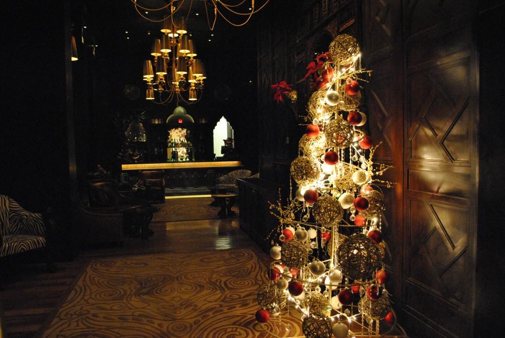 Arbre de Noël au Old Cataract