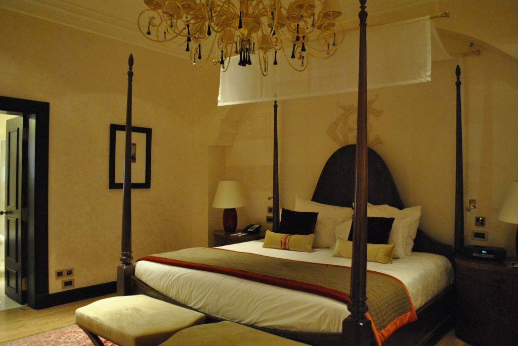 Suite Winston Churchill la chambre à coucher