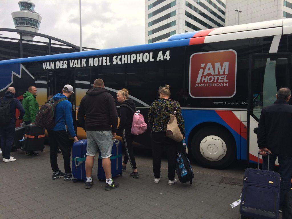 Navette de Van der Valk Hotel Schiphol A4-Amsterdam Airport