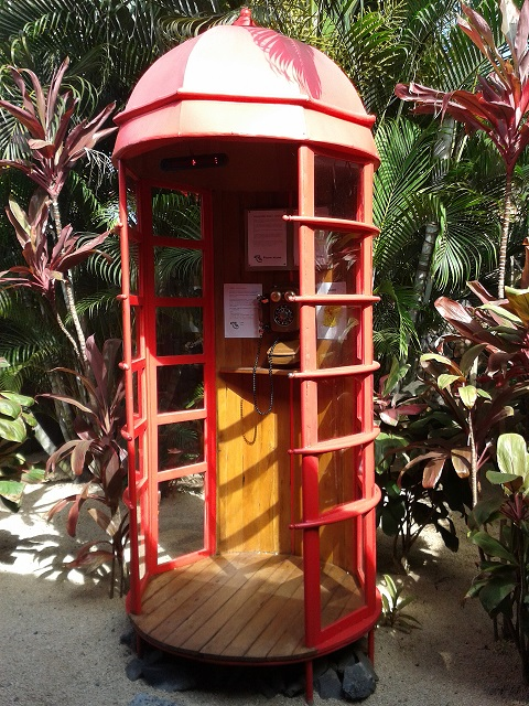 Cabine téléphonique