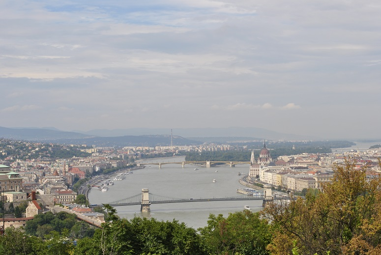 Budapest vue de la colline Gellért