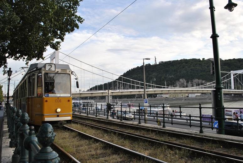Sightseeing tour by tram avec Elisabth bridge
