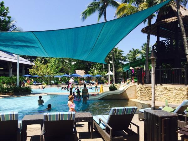 Shangri La piscine enfants