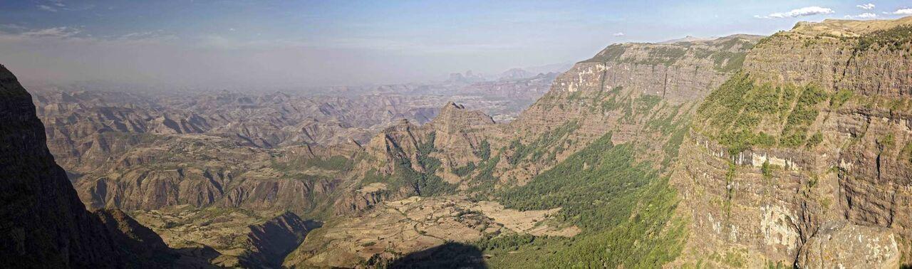 Parc de Semein, Ethiopie - paysage